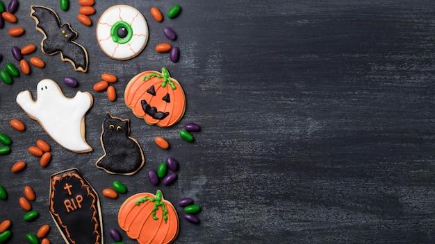Copy-space traktuje na imprezie z okazji halloween
