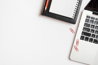 Copyspace i elementy biznesowe