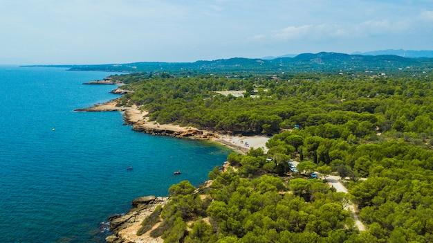 Costa dorada w katalonii (hiszpania)