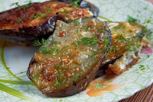 Cotolette di melanzane - włoska przystawka z bakłażanem