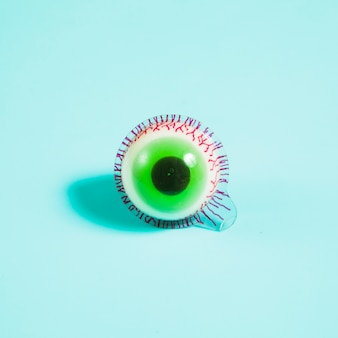 Creepy candy eyeball