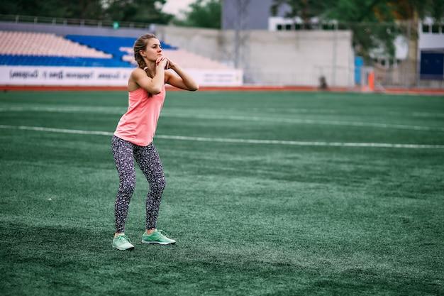 Crossfit, fitness, zdrowy styl życia.