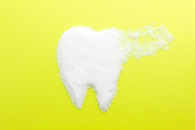 Cukier powoduje próchnicę