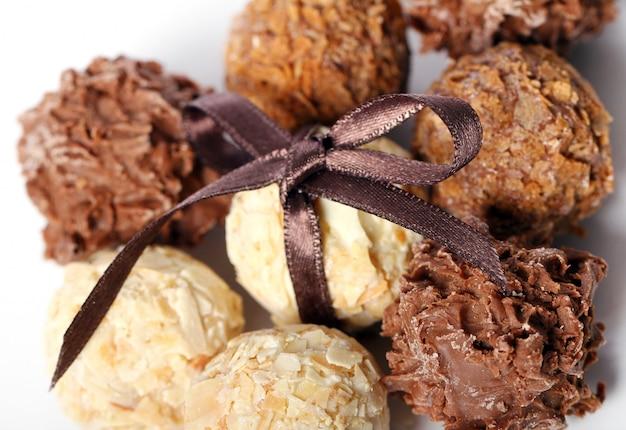 Cukierki czekoladowe