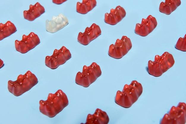 Cukierki do żucia w formie misia