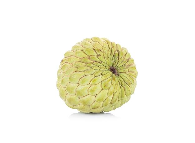 Cukru apple na białym tle