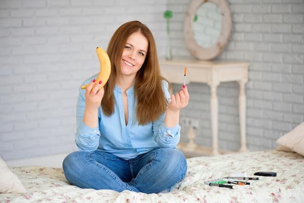 Cukrzyca. koncepcja cukrzycy. materiały dla diabetyków w domu. cukrzycowy