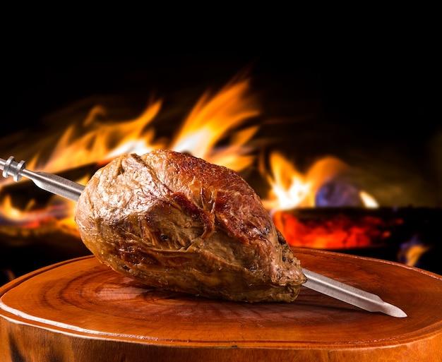Cupim, tradycyjny brazylijski grill.