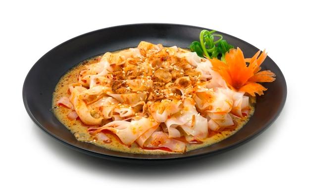Curry chee cheong fun nostalgiczne potrawy z makaronem ryżowym