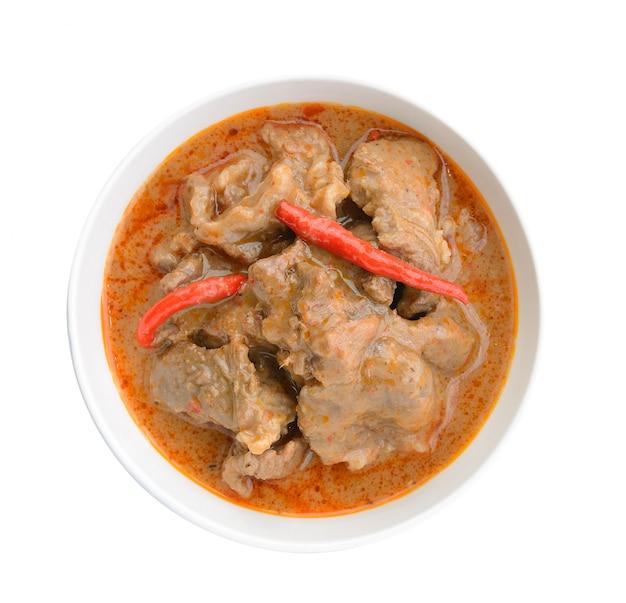 Curry panaeng to rodzaj tajskiego curry