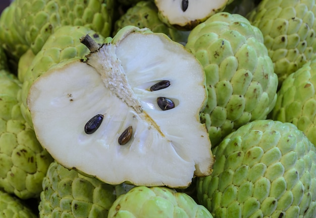 Custard apple lub sugar apple fruit