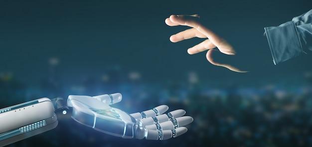 Cyborgowa ręka robota oncity