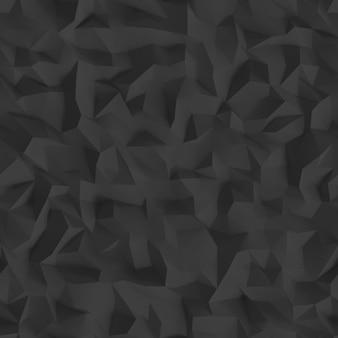 Cyfrowe geometryczne tło low poly