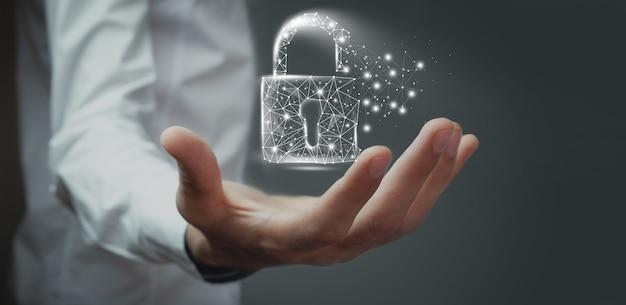 Cyfrowe pojęcie kodu danych bezpieczeństwa