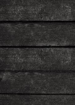 Czarna drewniana ściana