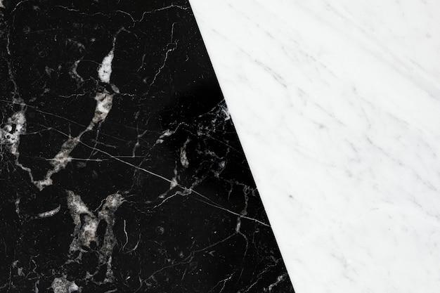 Czarna gładka marmurowa tekstura z białymi smugami