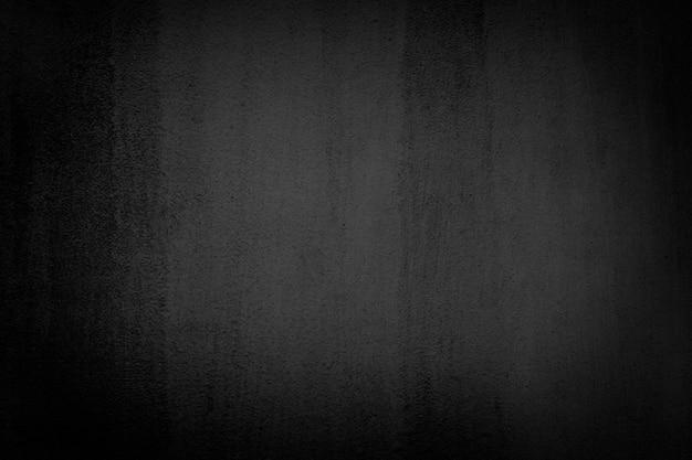 Czarna gładka ściana teksturowana w tle