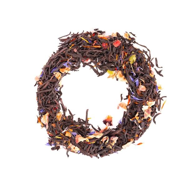 Czarna herbata cejlońska z owocami kandyzowanymi
