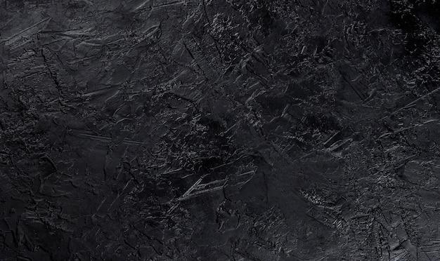 Czarna kamienna tekstura, widok z góry