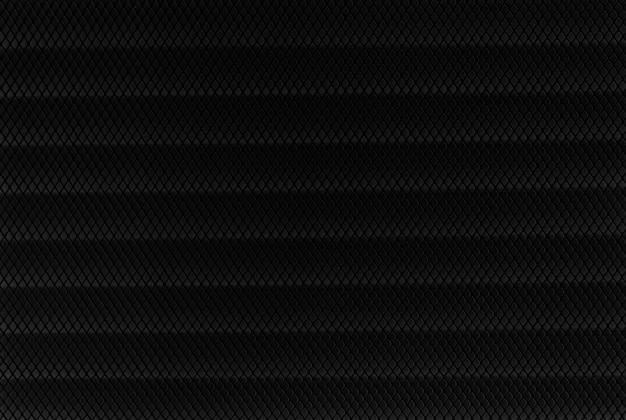 Czarna plastikowa siatka. poziomo tło
