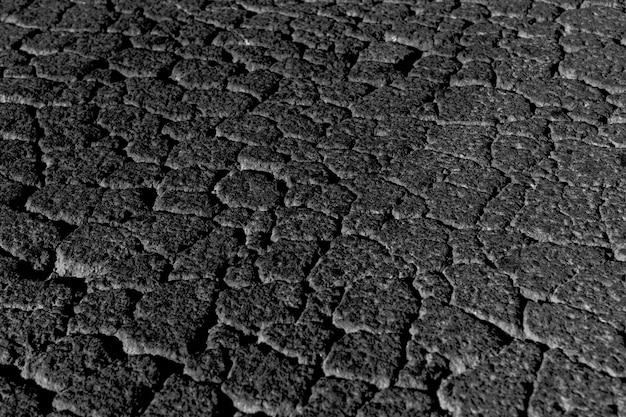 Czarna popękana tekstura lub tło alfa