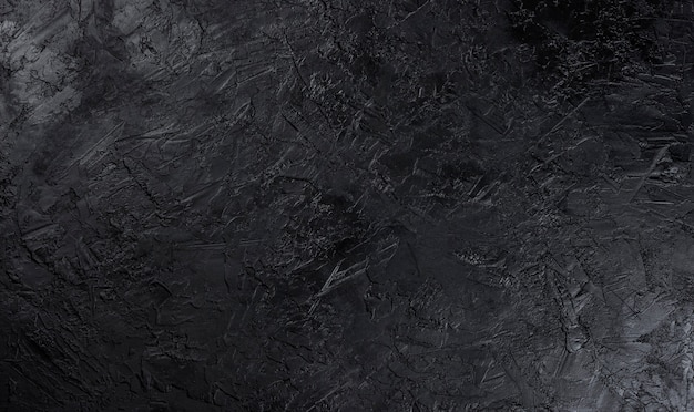 Czarna powierzchnia kamienia
