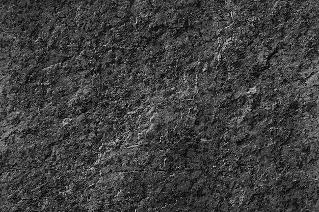 Czarna skała wapienna tekstury