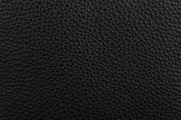 Czarna skóra naturalna tekstura tło