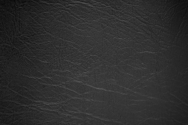 Czarna skóra tekstura tło