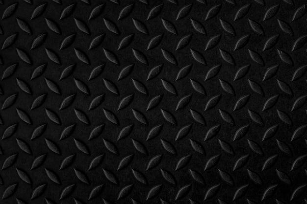 Czarna stalowa diamentowa tekstura miejsca