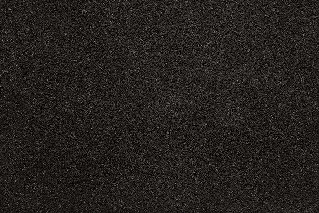 Czarna syntetyczna gąbki tekstura dla tła