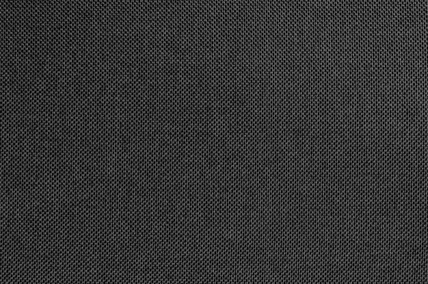Czarna szara tkaniny tekstura dla tła