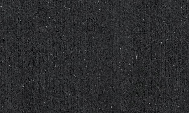 Czarna szorstka tekstura papieru