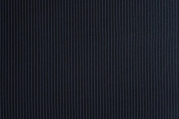 Czarna, teksturowana tkanina