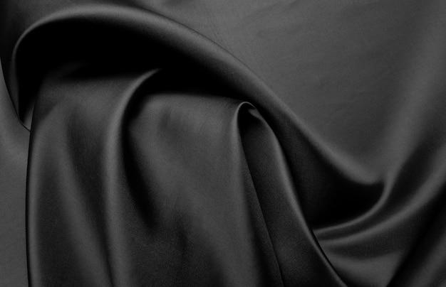 Czarna tkanina tekstura tło, streszczenie
