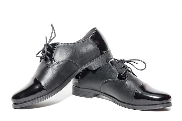 Czarne damskie buty