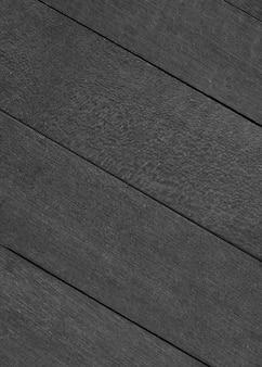 Czarne drewniane deski teksturowane tło