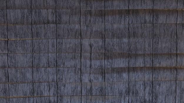 Czarne drewniane tekstury tła