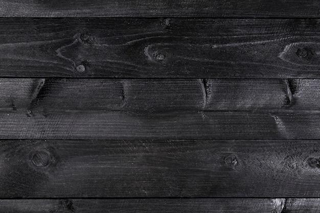 Czarne drewniane tła
