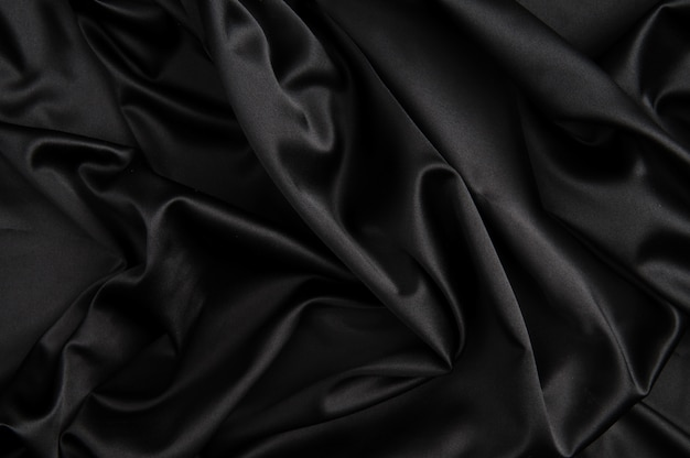 Czarne jedwabne tło