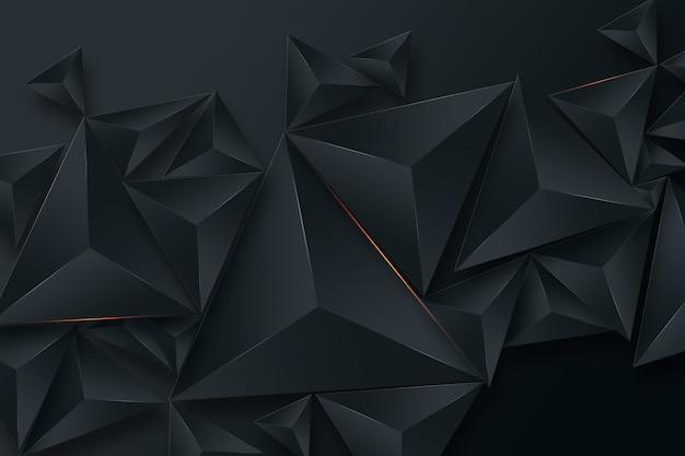 Czarne kreatywne tło