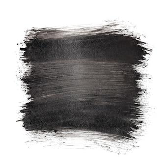 Czarne pociągnięcia pędzlem - abstrakcyjne tło, miejsce na tekst