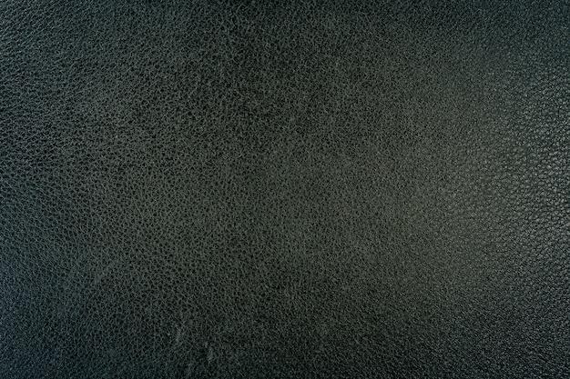 Czarne skórzane tło