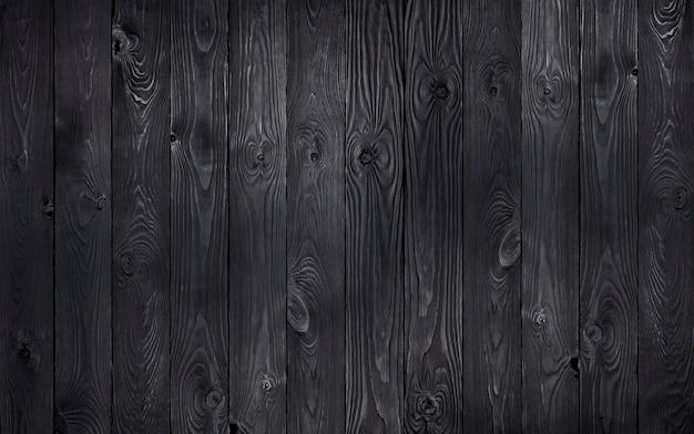 Czarne tło drewniane