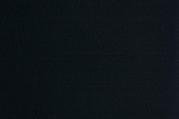 Czarne tło filcowe, tekstura tkaniny