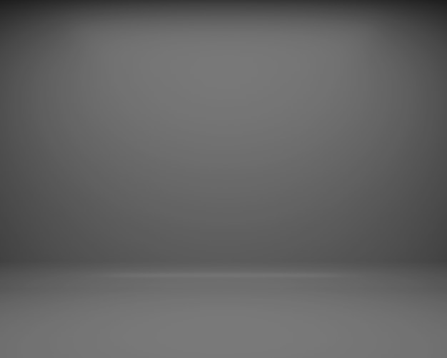 Czarne tło podłogi i ściany. renderowania 3d
