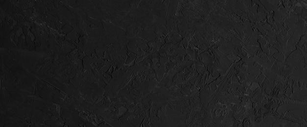 Czarne tło powierzchni betonu lub kamienia. transparent.