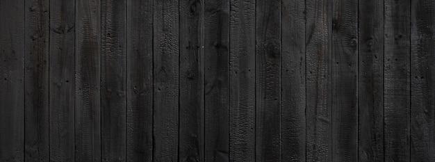Czarne tło tekstury drewna pochodzące z naturalnego drzewa.
