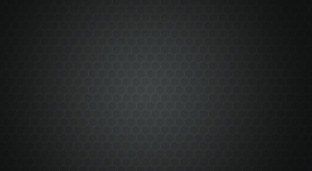 Czarne tło wzór wielokąta