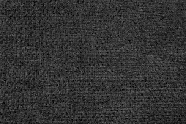 Czarno-białe płótno lniane tekstura tło